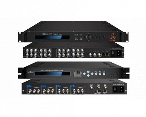 NDS3204A/NDS3208A MPEG-2 4/8 in 1 Encoder
